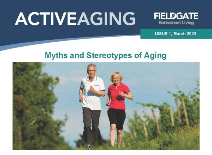 ACTIVE AGING Newsletter