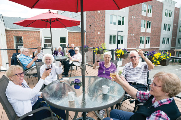 Kingsway Place is Community within Community