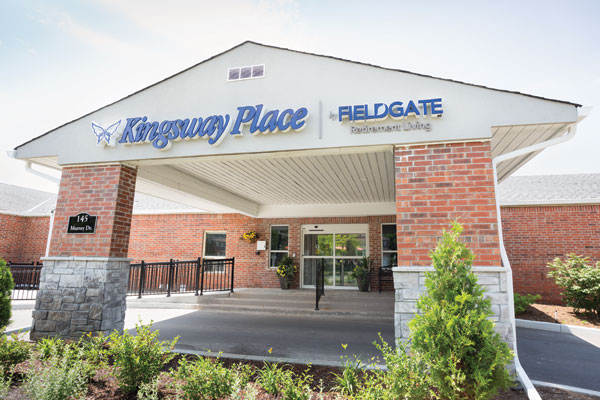 Kingsway Place Retirement Living in Aurora Ontario